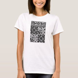 Colour-yourself tee shirt medieval design