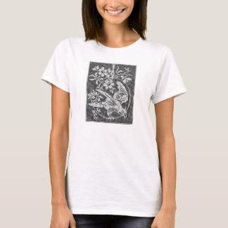 Colour-yourself tee shirt vintage needlework