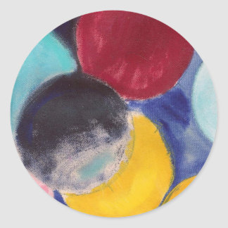 Colourcode Dot series Round Sticker