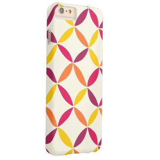 Coloured Abstract Shapes Pattern iPhone Case