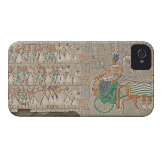 Coloured base reliefs from the south gallery of th iPhone 4 cases