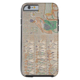 Coloured base reliefs from the south gallery of th tough iPhone 6 case