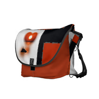 coloured case: on the love boat courier bags