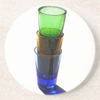 cocktail glass coasters cocktail glass drink coasters. Black Bedroom Furniture Sets. Home Design Ideas