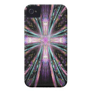Coloured Cross iPhone 4 Case