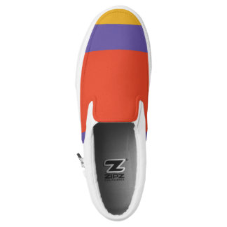 Coloured Design Printed Shoes