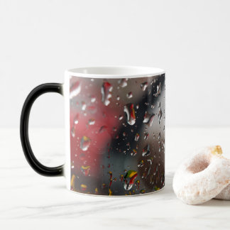 Coloured Droplets Magic Mug