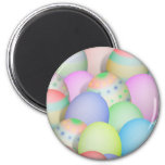 Coloured Easter Eggs Background