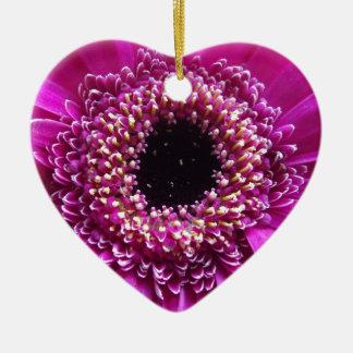Coloured Flower Close up Christmas Ornament
