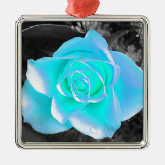 Coloured Flower Design Christmas Ornament