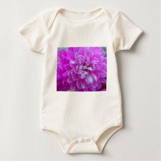 Coloured Flower Design Close up Baby Bodysuit