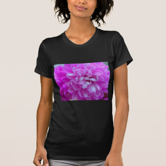 Coloured Flower Design Close up T-Shirt