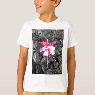 Coloured Flower Design T-Shirt