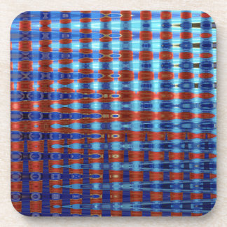 COLOURED GLASS 2 COASTER