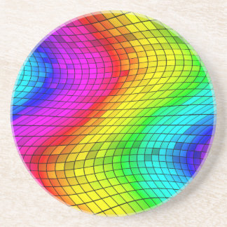 Coloured Glass Coaster