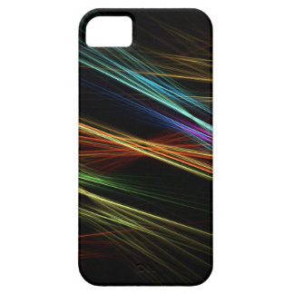 Coloured Lines Mobile Phone Case