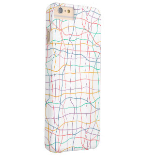 Coloured Lines Pattern iPhone 6/6s Plus Case