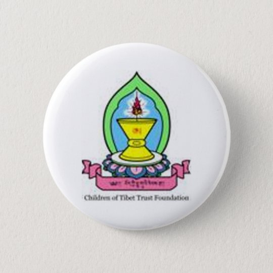 Coloured Logo CTTF 6 Cm Round Badge