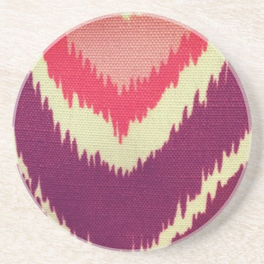 Coloured Material Coaster