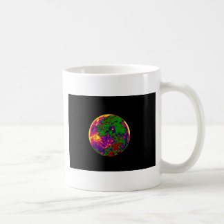 coloured moon coffee mug