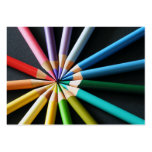 Coloured Pencils - Business Cards