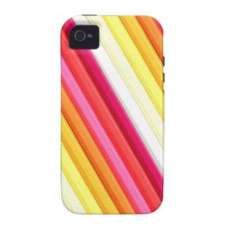 Coloured Pencils iPhone Case iPhone 4 Case
