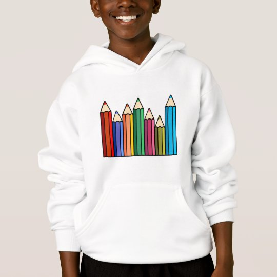 Coloured Pencils Sweatshirt