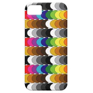 Coloured scales design iPhone 5 case