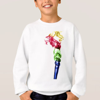 Coloured smoke plumes sweatshirt
