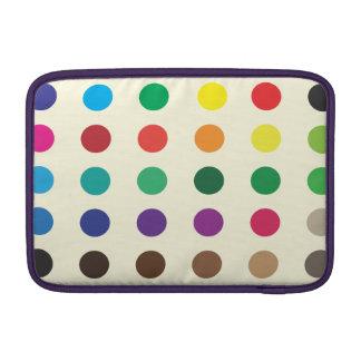 "Coloured Spots Macbook Air 11"" Sleeve"