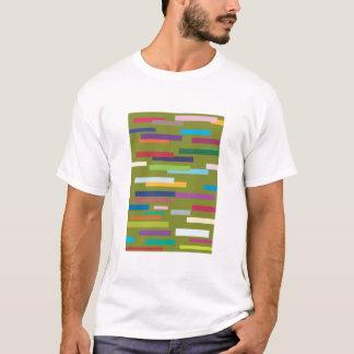 Coloured Stripes Adult Tee Shirt