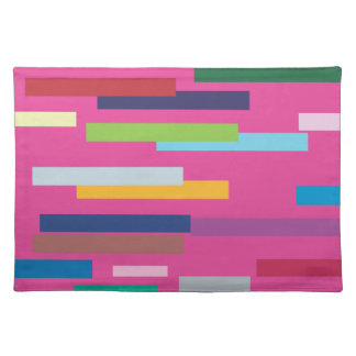 Coloured Stripes American Mojo Placemats