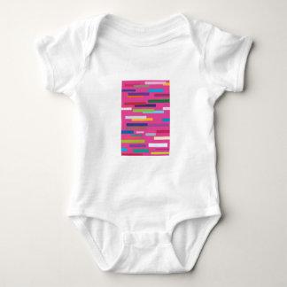 Coloured Stripes Babygro/Creeper Baby Bodysuit