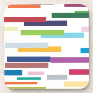 Coloured Stripes Coaster