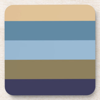 Coloured Stripes Coasters