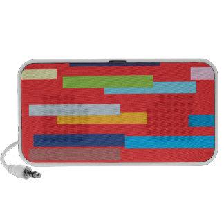 Coloured Stripes Doodle Speakers