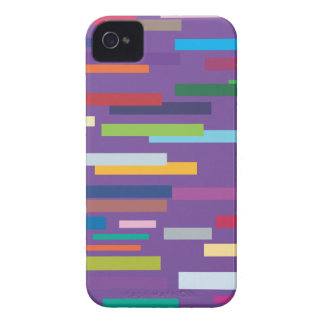 Coloured Stripes iPhone 4/4S Barely There Case