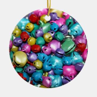 Coloured Tin Balls Ornament