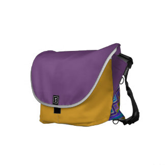 coloured vortex on Medium Messenger Bag