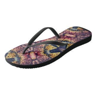 Coloured woollen article flip flops