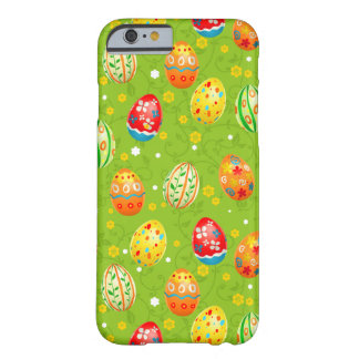 Colourfol floral decorated eggs barely there iPhone 6 case