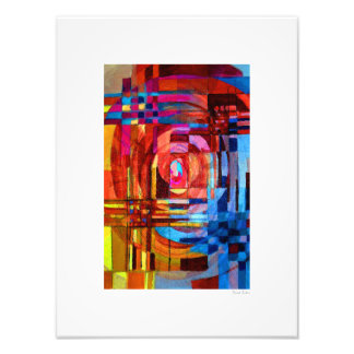 "Colourful 12""x16"" photo art"