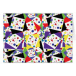 Colourful 80s/90s Vintage Thank You / Greeting Card