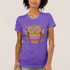 Colourful 80s Owl T-Shirt