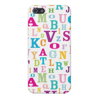 Colourful ABC's Pattern iPhone4 Case Case For The iPhone 5