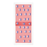 Colourful Abstract Art Book mark Rack Cards
