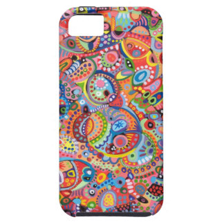 Colourful Abstract Art iPhone 5 Case