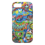 Colourful Abstract Art iPhone 7 case