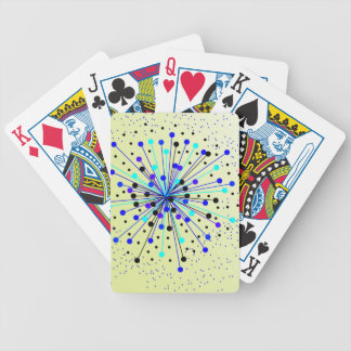 Colourful Abstract Background Bicycle Playing Cards