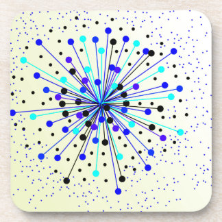 Colourful Abstract Background Coaster